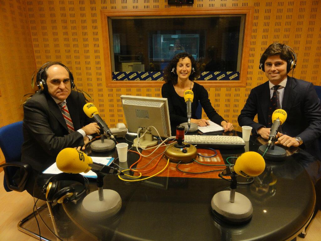 Sabin Azua Y Galo Alvarez En La Ventana Euskadi De Cadena Ser B